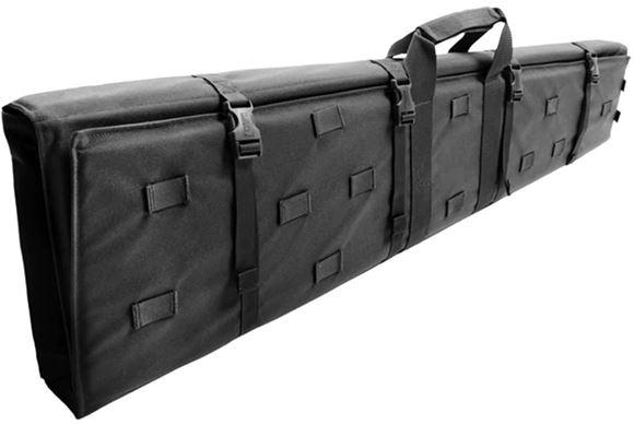 "Picture of Blackhawk Bags & Packs & Tactical Nylon, Cases & Mats, Mats - Stalker Drag Mat, Bag, Elastic Loops w/ Flap Holds 10rds 308, 50.5""L,9""W,2"" D, Black, Adjustable Shoulder Strap"