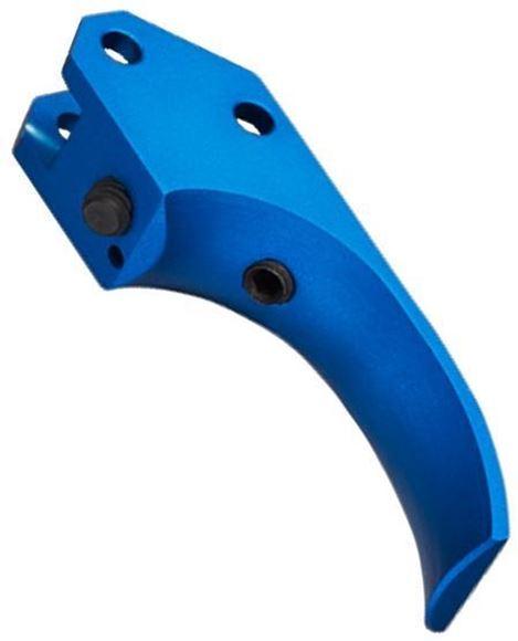 Picture of CZ Pistol Parts - Target Trigger, Blue, Fits CZ-75, SP-01, T