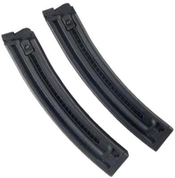 Picture of German Sport Guns (GSG) Magazines - GSG-16 Magazine, 22rds, Black (Twin Pack)