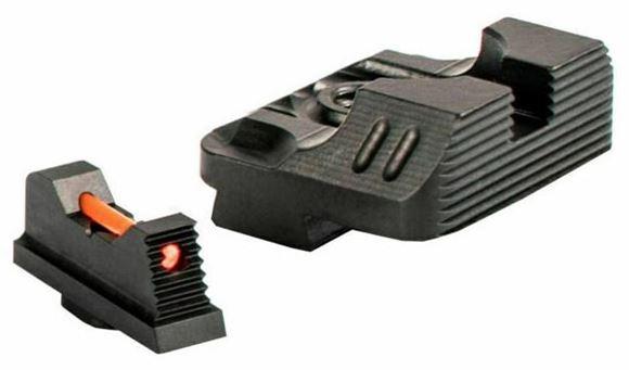 Picture of ZEV Technologies Sights - ZEV Sight set, .215 Black Front, Sombat v2 Black Rear