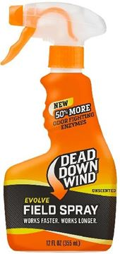 Picture of Dead Down Wind - Evolve 3D+ Field Spray Scent Eliminator, Unscented, (12oz) 355mL Spray Bottle