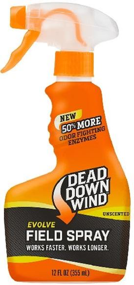 Picture of Dead Down Wind - Evolve 3D+ Field Spray Scent Eliminator, Unscented, (12oz) 355mL Spray Bottle