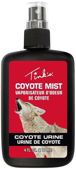 Picture of Tink's Lures - Coyote Mist, Coyote Urine, All Season, 4oz Spray Bottle