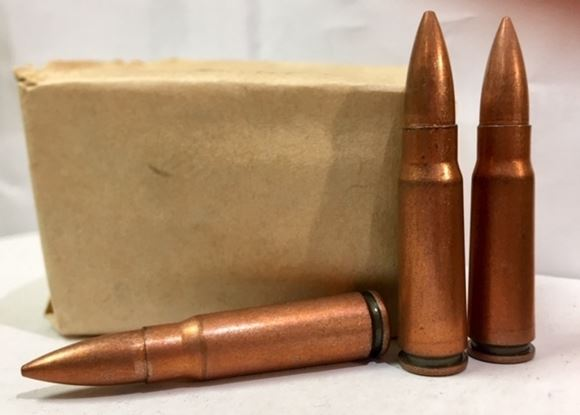 Picture of Norinco Chinese 7.62x39mm Surplus Rifle Ammunition - Steel Core / Steel Case. 25rd Paper Pack 1998 YrMF+