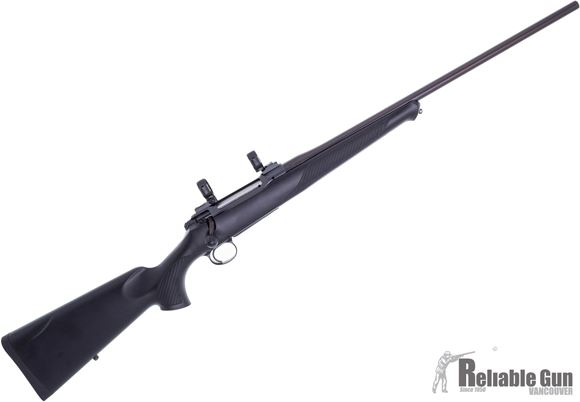 """Picture of Used Sauer S 101 Classic XT Bolt Action Rifle - 7mm Rem Mag, 24"""", Leupold STD 30mm Rings, Matte Black, ERGO MAX Polymer Ambidextrous w/Symmetrical Palm Swell Stock w/Soft Touch Coating, 4rds, Excellent Condition"""
