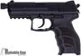 """Picture of Used Heckler & Koch (H&K) P30 V3 DA/SA Semi-Auto Pistol - 9mm, 4.26"""", 2 Magazines, Fixed Sights, Original Box, (Add On's) Extended Mag Release, H&K Thread Protector, Excellent Condition"""