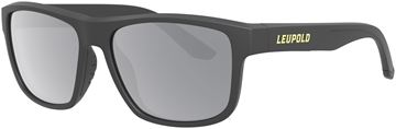 Picture of Leupold Optics, Performance Eyewear, Sunglasses - Model Katmai, Matte Black, Shadow Grey Flash Polarized Lenses