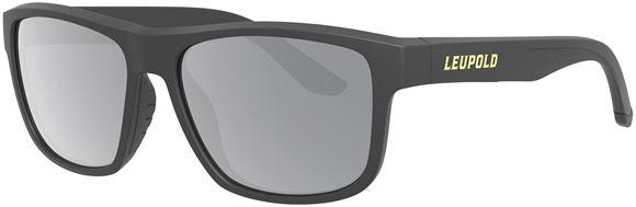 Picture of Leupold Optics, Performance Eyewear, Sunglasses - Model Katmai, Matte Black, Shadow Grey Flash Polarized Lenses
