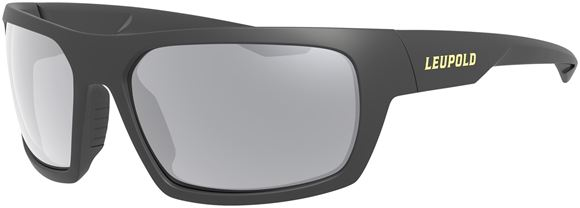 Picture of Leupold Optics, Performance Eyewear, Sunglasses - Packout Model, Matte Black, Shadow Grey Flash Polarized Lenses
