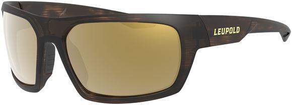 Picture of Leupold Optics, Performance Eyewear, Sunglasses - Packout Model, Matte Tortoise, Bronze Mirror Polarized Lenses