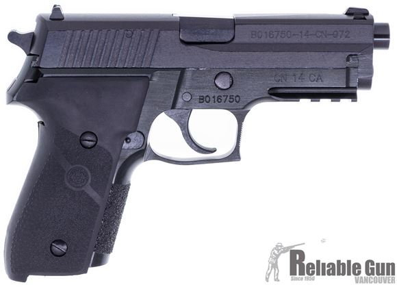 "Picture of Used Norinco NP-34  DA/SA Semi-Auto Pistol - 9x19mm, 4.4"" (108mm), Rubber Hogue Grip, 6 Magazines, Fixed 3-Dot Sights, Decocking Lever, Original Box, Excellent Condition"