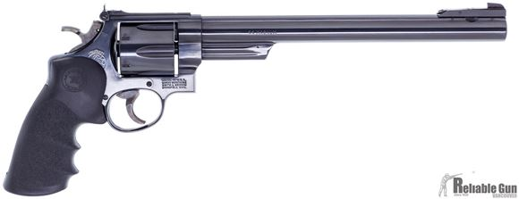 "Picture of Used Smith & Wesson Model 29-3, (1983 Manufacture) 44 Rem Mag, 10.5"" Barrel, 4 Position Silhouette Front Sight, Hogue Mono Grip, Case Hardened Hammer and Trigger, Very Good Condition"
