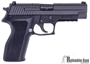 Picture of Used Sig Sauer P226R Semi Auto Pistol, 9mm Luger, Night Sights, E2 Grips, 2x10rd, DA/SA Original Case, Very Good Condition