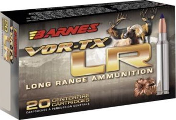 Picture of Barnes VOR-TX LR Hunting Rifle Ammo - 30-06 Sprg, 175Gr, LRX BT, 20rds Box