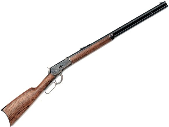 "Picture of Chiappa Armi Sport 1892 Lever Action Rifle - 357 Mag, 24"", Color Case Receiver, Octagonal Blued Barrel, Hand Oiled Walnut Stock, Long Buckhorn Adjustable & Blade Sights, 12rds"