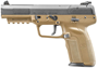"""Picture of FN Herstal (FNH) Five-seveN Semi Auto Pistol - 5.7x28mm, 5"""", FDE Polymer Frame, 3x10rds, Adjustable Sights"""