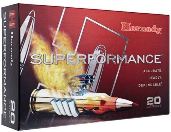 Picture of Hornady Superformance Rifle Ammo - 6.5 Creedmoor, 129Gr, SST Superformance, 200rds Case