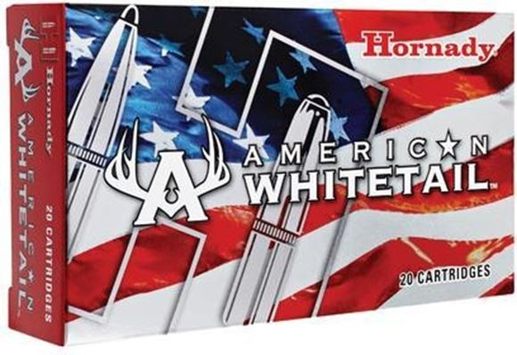 Picture of Hornady American Whitetail Rifle Ammo - 300 Win Mag, 180Gr, Interlock SP, 200rds Case