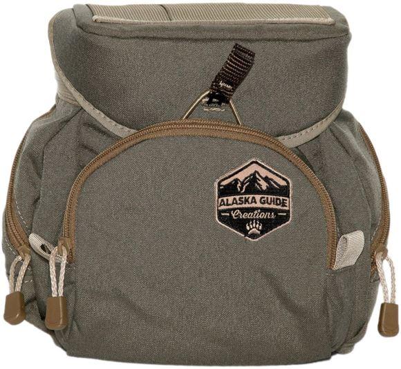 Picture of Alaska Guide Creations Binocular Harness Packs - Denali Bino Pack, Ranger Green, Fits Up To 15x56 Binoculars, & Extra Large Rangefinders