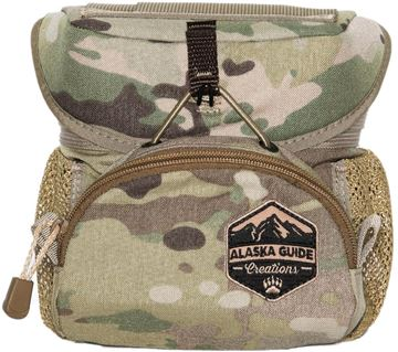 Picture of Alaska Guide Creations Binocular Harness Packs - Hybrid Bino Pack, Multicam Camo, Fits Up To 10x42 Binoculars, & Medium Sized Rangefinders