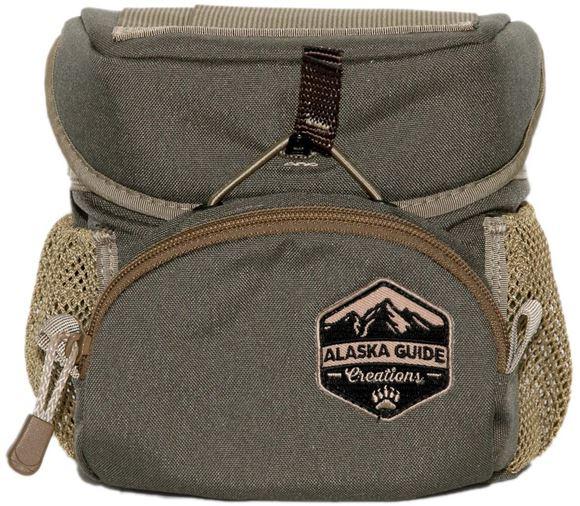 Picture of Alaska Guide Creations Binocular Harness Packs - Hybrid Bino Pack, Ranger Green, Fits Up To 10x42 Binoculars, & Medium Sized Rangefinders