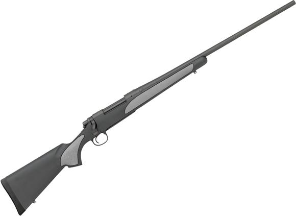 "Picture of Remington Model 700 SPS Bolt Action Rifle - 30-06 Sprg, 24"", Matte Blue, Matte Black Synthetic Stock, Over-Molded Grip Panels, 4rds, X-Mark Pro Adjustable Trigger"