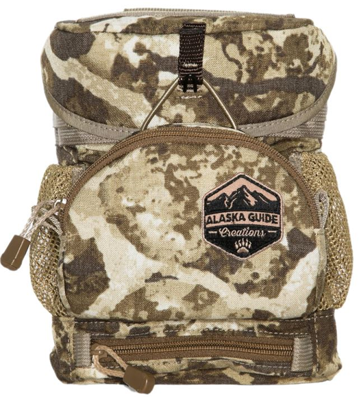 Picture of Alaska Guide Creations Binocular Harness Packs - Hybrid With MAX Pocket Bino Pack, Cipher Camo, Fits Up To 10x42 Binoculars, & Medium Sized Rangefinders