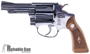 "Picture of Used Smith & Wesson Model 38 Revolver, 38 S&W, 3"", Blued/Wood, Very Good Condition"