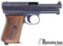 "Picture of Used Mauser Model 1914 Semi Auto Pistol, 32 ACP, 3.4"" Barrel, Wood Grips, Good Condition"
