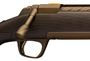 "Picture of Browning X-Bolt Pro Long Range Bolt Action Rifle - 6.5 PRC, 26"" Matte Heavy Sporter Barrel, 1-7"" Twist, Muzzle Brake, Carbon Fiber Stock, Burnt Bronze Cerakote Finish, 3rds"