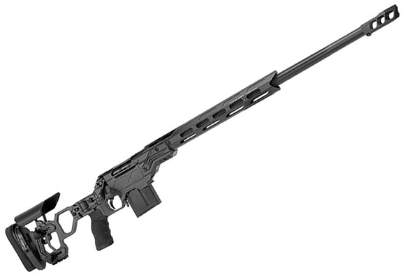 "Picture of Cadex Defense CDX-R7 Sheepdog Lite Comp M-LOK Rifle - 6.5 Creedmoor, 26"", 1-8"" Twist, Black, DX2R7 Trigger, Oversized Bolt Knob, 10rds, Adjustable Folding Buttstock, 20 MOA Rail, MX1 Brake"