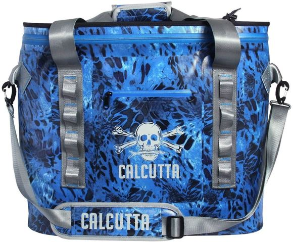 Picture of Calcutta Containers, Cooler - Renegade Performance 35 Litre Cooler, Shoreline Camo w/ Shoulder Strap