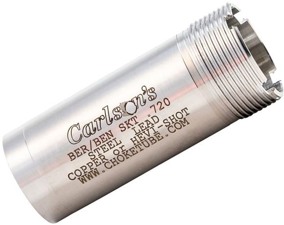 "Picture of Carlson's Choke Tubes, Replacement Chokes - 12Ga Flush Mount Replacement Stainless Choke Tubes, Skeet (.615""), Fits Beretta Benelli Mobil Choke System, For Use w/ Steel, Lead or Hevi-Shot"