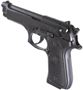 Picture of Beretta M9 Commercial DA/SA Semi-Auto Pistol - 9mm Luger, 125mm, Chrome Lined, Black Oxide/PVD Finished, Steel Slide & Alloy Frame, 2x10rds Mag