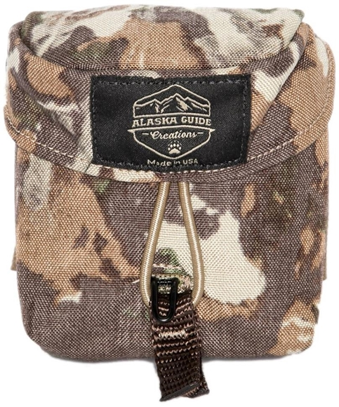 "Picture of Alaska Guide Creations Rangefinder Pouch - Fusion Camo, Rangefinder Pouch, 3 1/2"" (Width) x 4 1/2"" (Height) x 2"" (Depth)"