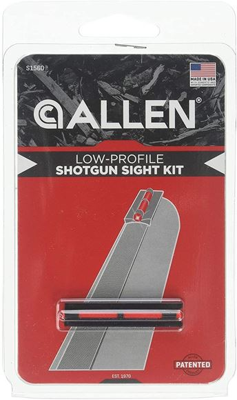"""Picture of Allen Shooting Accessories, Sights - Front Shotgun Sight, Red, Fits 5/16"""" Remington & Benelli 12Ga Guns"""