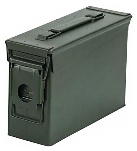 "Picture of Blackhawk Sportster Ammunition Container - M19 Olive Drab Steel Ammo Can, Weather Seal,  10"" x 7"" x 3.5"""