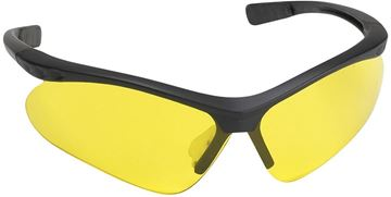 Picture of Champion Shooting Gear, Safety Glasses - Ballistic Shooting Glasses, Black Frame w/ Yellow Lenses