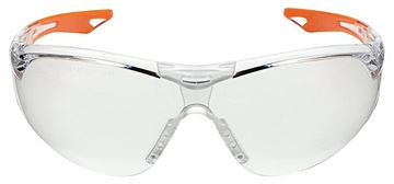 Picture of Champion Shooting Gear, Safety Glasses - Youth Ballistic Shooting Glasses, Orange Frame w/ Clear Lenses