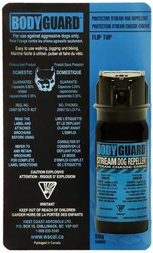 Picture of Defense Aerosols - Bodyguard Dog Repellent - Black, 50g
