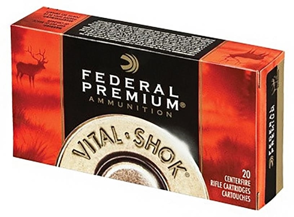 Picture of Federal Premium Vital-Shok Rifle Ammo - 270 Win, 130Gr, Ballistic Tip, 20rds Box