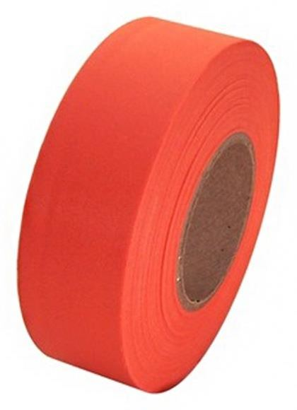 """Picture of G. Hjukstrom Hunting Accessories - Flagging Tape, 1"""", Orange Glow, 3mil x 50yrds"""