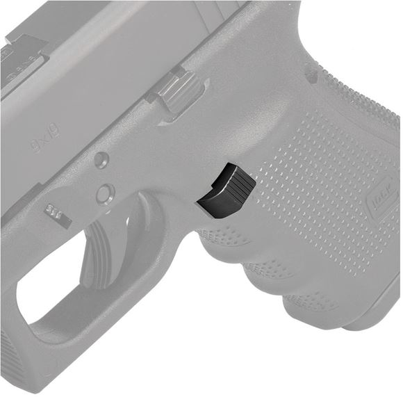 Picture of Glock Store, Glock Magazine Catch - Aluminum Extended Magazine Catch, Black, 9mm/40 S&W/357 SIG, Gen 4/5