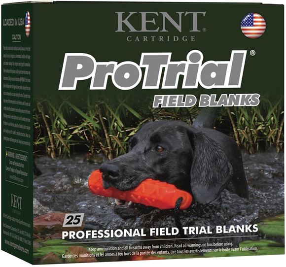 "Picture of Kent ProTrial Field Blanks Shotgun Ammo - 12Ga, 2-1/2"", 25rds Box"