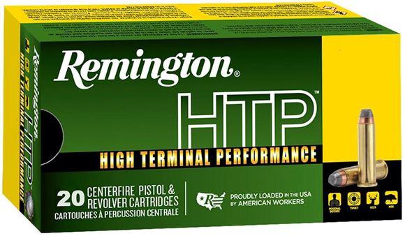Picture of Remington HTP High Terminal Performance Pistol Ammunition - 45 Auto, 230gr, JHP, 20rds Box