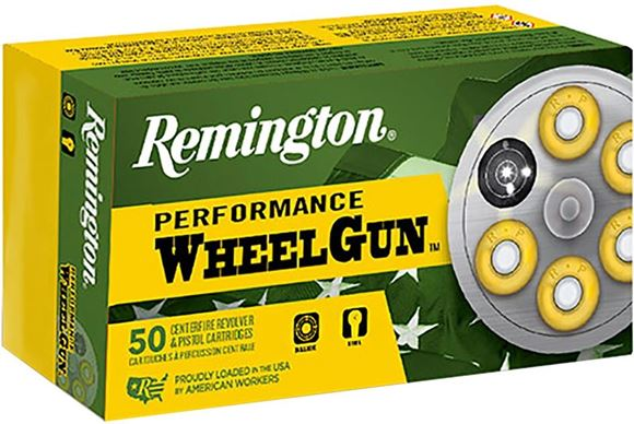 Picture of Remington Performance Wheelgun Handgun Ammo - 38 Special, 148Gr, TMWC, 50rds Box
