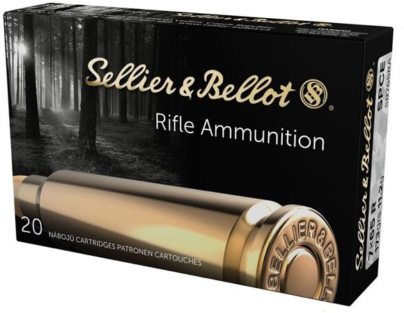 Picture of Sellier & Bellot Rifle Ammo - 7x65R, 173Gr, SPCE, 20rds Box