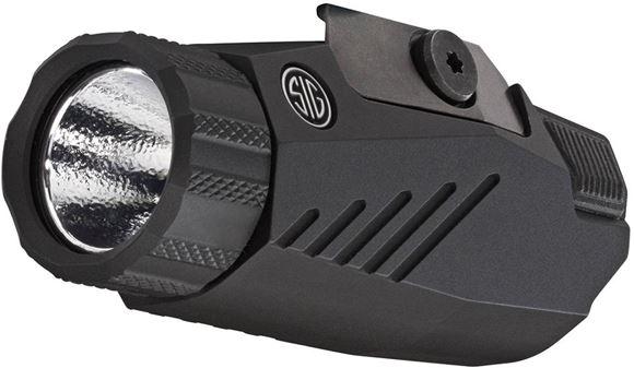 Picture of Sig Sauer Accessories - Foxtrot Gun Mounted Light, M1913 or Sig Proprietary Mount, CR123 Battery, Waterproof, 100/200/300 Lumen Modes