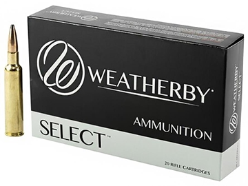 Picture of Weatherby Ultra-High Velocity Rifle Ammo - 6.5 RPM, 140Gr, Interlock, 20rds Box