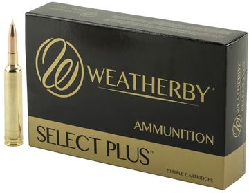 Picture of Weatherby Ultra-High Velocity Rifle Ammo - 6.5 RPM, 140Gr, Accubond, 20rds Box